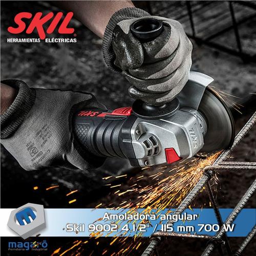 amoladora angular skil 9002 jr 700 w 4''1/2  / 115mm