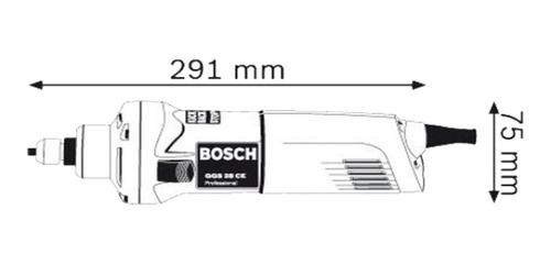 amoladora bosch recta ggs 28 500w 28000 rpm