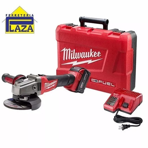 amoladora con milwaukee