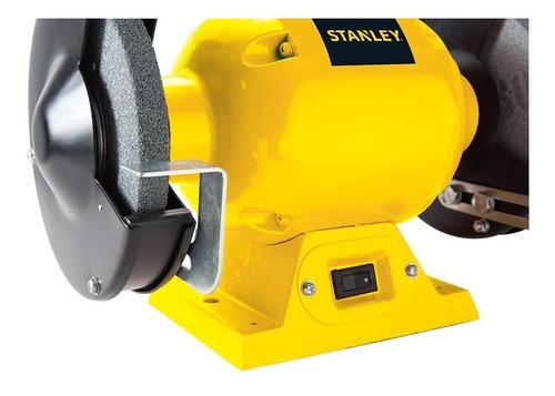 amoladora de banco 152mm 1/2hp stanley stgb3715 stanley