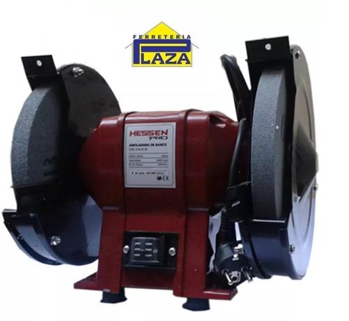 amoladora de banco 200 mm 350w hessen pro