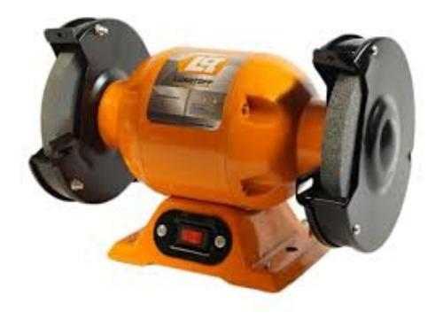 amoladora de banco lüsqtoff ab-375 de 50hz naranja 220 volts