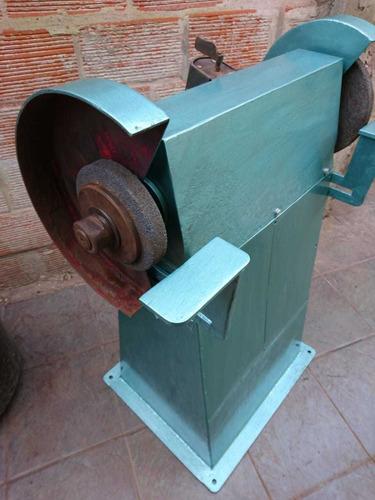 amoladora de pie industrial 2hp trifasica