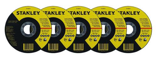 amoladora stanley angular stgs7115 710w 115mm + 5 discos