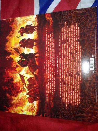 amon amarth - surtur rising cd+dvd + poster capa vinil raro