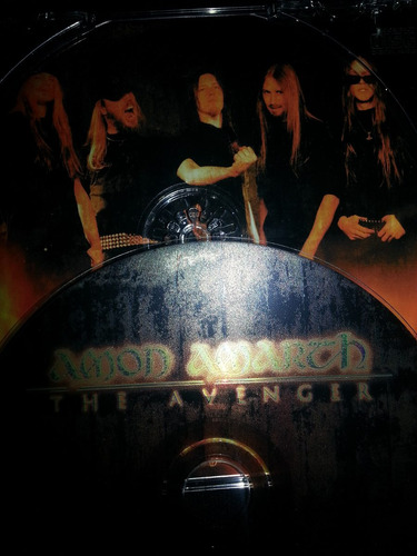 amon amarth - the avenger, metal blade records, 1999