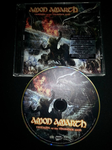 amon amarth - twilight of the thunder god, edición alemana