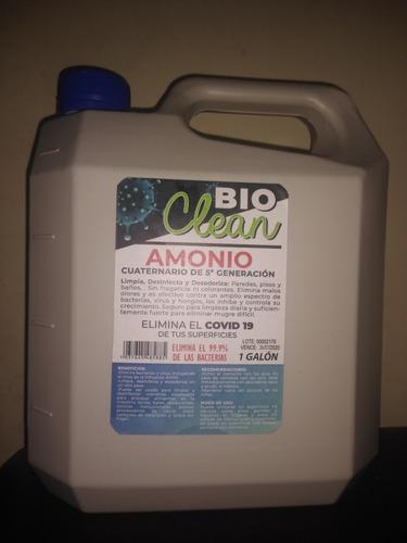 amonio cuaternario 5ta generación x galón