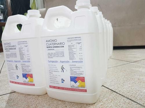 amonio cuaternario a domicilio sin recargo y fumigaciones