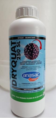 amonio cuaternario dryquat 250