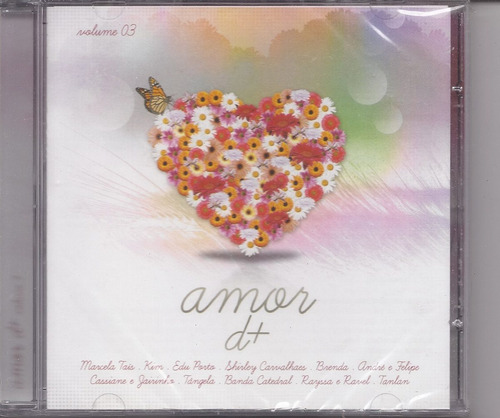 amor d+ volume 03 - cd gospel