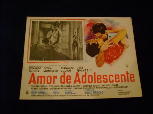 amor de adolescente fernando soler   cartel poster  18.9.17