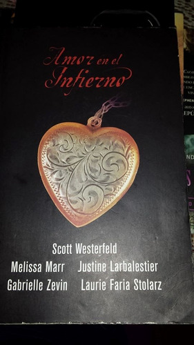 amor en el infierno, scott westerfeld, libro usado vbf