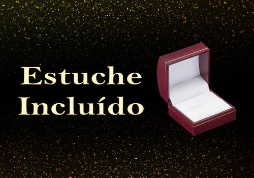 amor eterno - compromiso / anillo fino* oro 14k solido