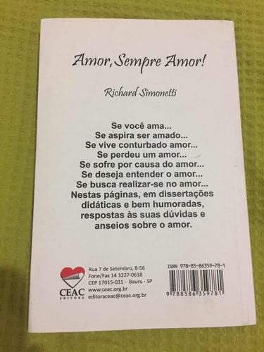 amor sempre amor!