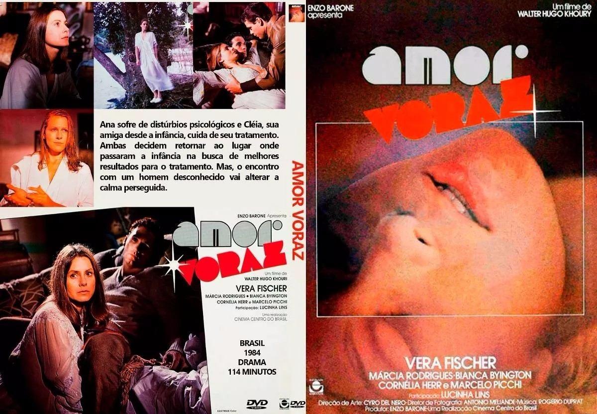 Amor Voraz amor voraz (1984) - vera fischer, lucinha lins (dvd)