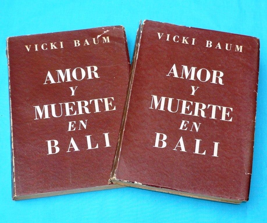 amor y muerte en bali vicki baum 2 tomos novela completa