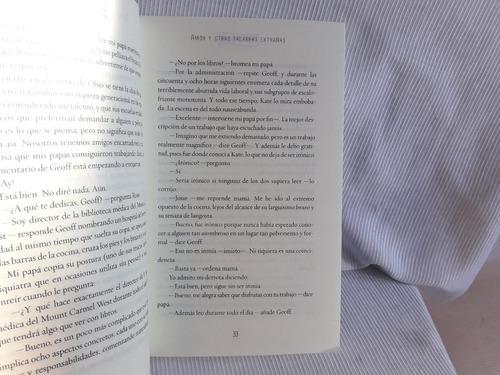amor y otras palabras extrañas erin mccahan ed. alfaguara