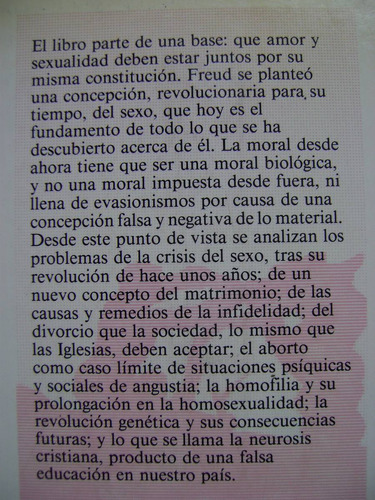 amor y sexualidad - enrique miret magdalena