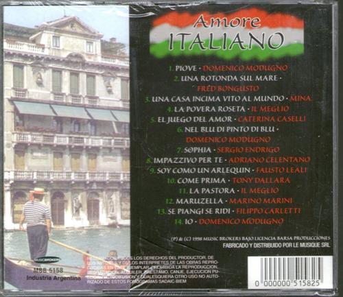 amore italiano - mina modugno bongusto celentano  -cd
