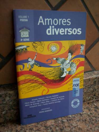 amores diversos, vol 1, 8a. série - vários autores poesia