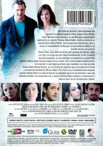 amores infieles liam neeson pelicula dvd