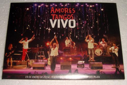 amores tangos vivo dvd sellado argentino / kktus