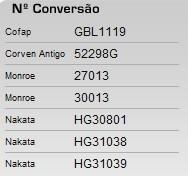 amortecedor corven traseiro fiat novo siena 08/ 42298(par)