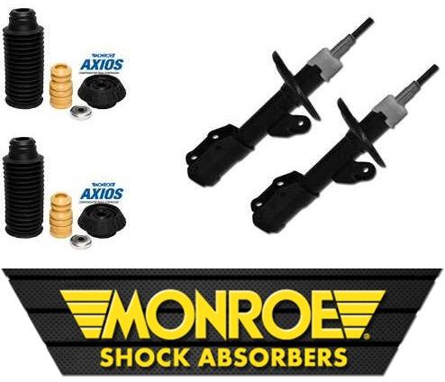 amortecedor dianteiro origin monroe + kit tudo axios fit