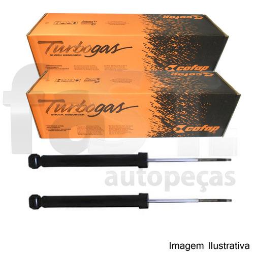 amortecedor traseiro cofap 206 1.0 1.4 1.6 99/10 gbl1206