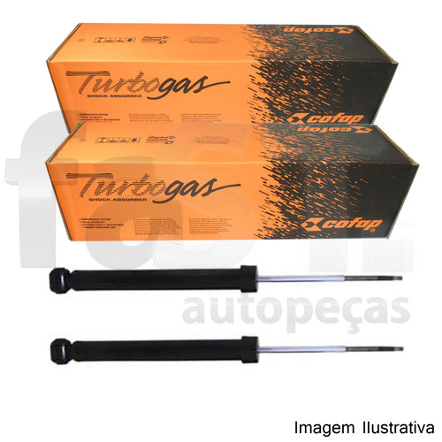 amortecedor traseiro cofap chevrolet s10 06/11 gl12913