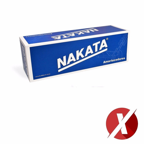amortecedor traseiro par nakata hg31129 renault logan
