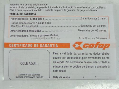 amortecedor traseiro prisma +2012 cofap gb27608
