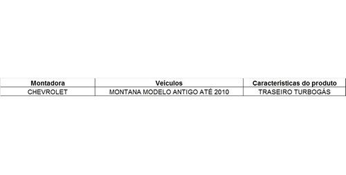 amortecedor traseiro turbogás original montana /10 93354583