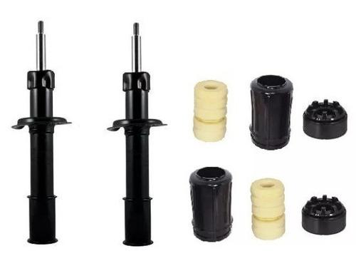 amortecedor uno + kits batente+coxim (dianteiros)
