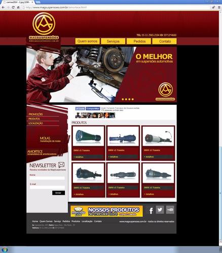 amortecedores e bolsas ar para carros importados blindados