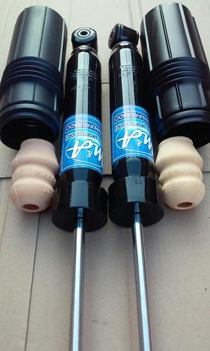 amortecedores traseiros de palio fire+kit batentes par