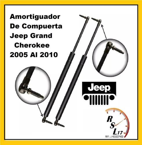 amortiguador de compuerta jeep grand cherokee 2005 al 2010