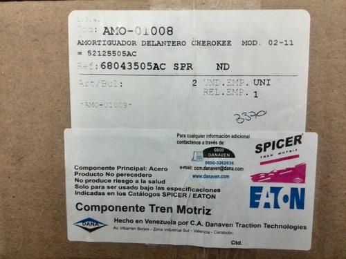 amortiguador delantero cherokee 2002/11 68043505 ac rt