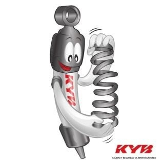 amortiguador delantero kyb dodge caliber original