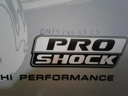 amortiguador delanteros luv dmax 4x4/fortaleza 4x4 proshock