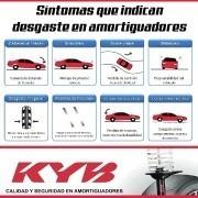 amortiguador nissan tiida sedan hatchback 2006-12 del izq g