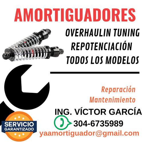 amortiguador repotenciacion - overhauling - reparacion