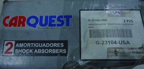 amortiguador trasero cheyenne silverado 94-97 par g-23104 im