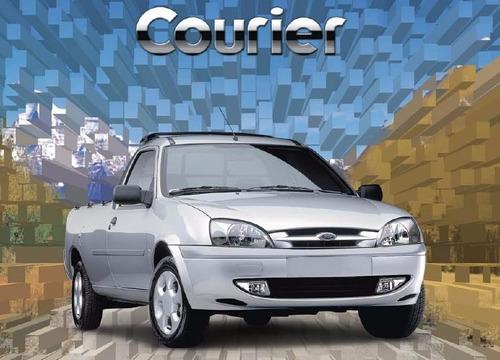 amortiguadores kyb ford courier (01-2012) juego completo