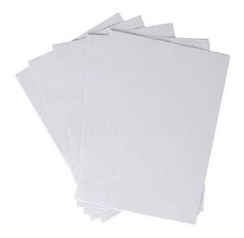 amostra de lona vinílica inkjet 5 folhas a4 - veja descrição