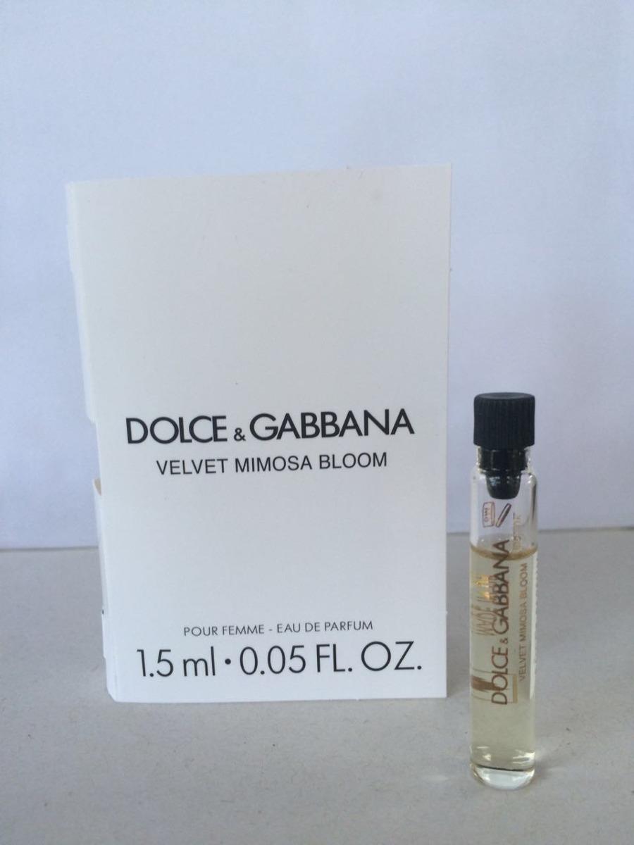 35dd004ac11d9 Amostra Dolce   Gabbana Velvet Mimosa Bloom Parfum 1.5 Ml - R  14