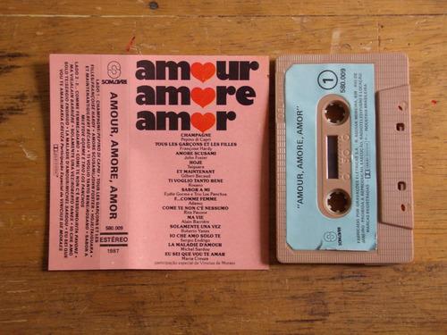 amour, amore, amor - fita k7, edição 1987