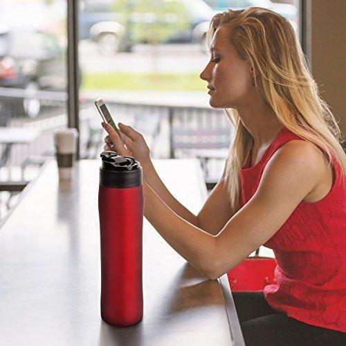 amovee french press travel coffee press mug cafetera de acer