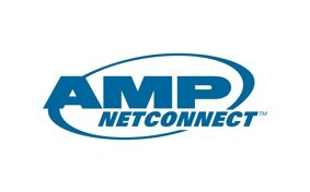 amp 557505-1 - faceplate de 2 puertos keystone color beige